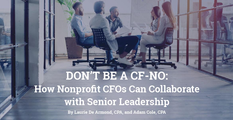 Don't be a CF-NO